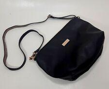 Bebe Crossbody Black Vegan Leather Purse Shoulder Bag EUC