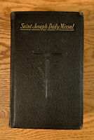 Saint Joseph Daily Missal: Confraternity Version (1959) Leather Red Edge Vintage