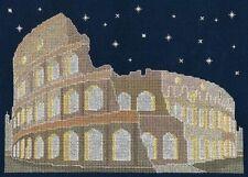 BRAND NEW DMC Cross Stitch Kit - Rome By Night - Glow in the Dark BK1727