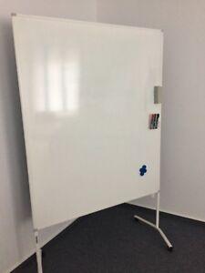 Pinwand Whiteboard Moderation Tafel mit Rollen Doppelseitig NP 199 €