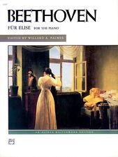 Fur Elise (pno); Beethoven, Ludwig van, Piano Solo, ALFRED - 2147
