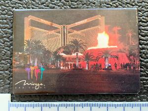 """Vintage Mirage Las Vegas """"Night Time"""" Hotel & Casino Fridge Magnet"""