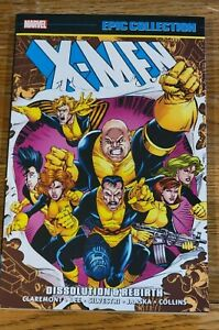 Marvel Epic Collection X-Men Dissolution & Rebirth TPB NEW OOP