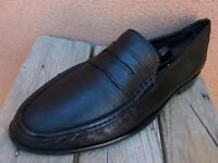 COLE HAAN Mens Dress Shoes Black Leather Casual Slip On Penny Loafer Sz Size 11M