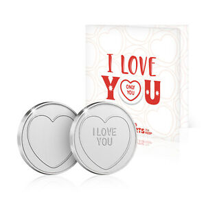 Love Hearts Sweets I Love You Gift Birthday Christmas Valentines Greeting Card