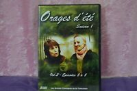 DVD ORAGES D'ETE 2DVD VOL.2 EPISODES 5 A 8