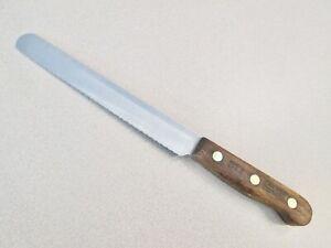 "CHICAGO CUTLERY TRADITIONAL WALNUT BT7-7"" BREAD KNIFE-FREE SHIP IN USA"