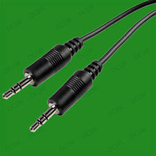 Extra Long 3.5mm 3 Metre Male to Male Audio Stereo AUX Cable Wire, PC TV HIFI