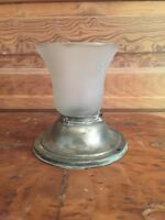 Vintage Art Deco Frosted Glass Ceiling Light Shade With Flush Mount