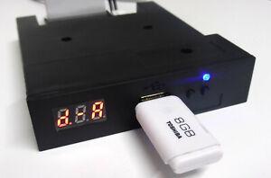 Amiga/Atari St Gotek Floppy USB Emulator. Sound Mode & Blue LED