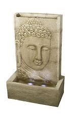Large Outdoor Buddha Sandstone Effect Garden Feature Statue Water Fountain