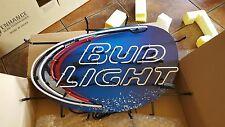 BUD LIGHT BUDWEISER BEER BAR NEON SIGN