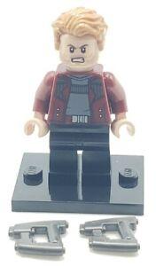 LEGO Star-Lord Avengers Infinity War Minifigure Super Hero 76107 Authentic sh499
