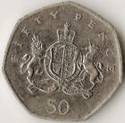 GREAT BRITAIN, 50 Pence 2013, Royal Coat of Arms Christopher Ironside,