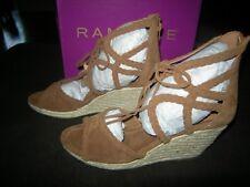 New Womens Cognac Brown Rampage Ram Carlita Heels, Size 8.5