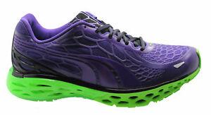 Puma Bioweb Elite NM Mens Running Trainers Shoes Fitness Purple 186903 02 D53