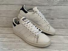 Adidas Originals Stan Smith White Navy Trainers Size UK 7.5