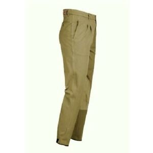 """Men's 32"""" Hac-Tac Classic Competition Breeches - Taupe Hunting SJ WAS £66.40"""