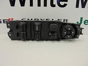 03-10 Dodge Ram Trucks New Driver's Door Window & Lock Switch Mopar Factory Oem