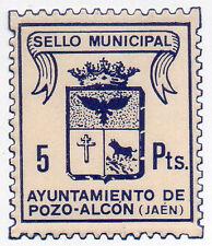 Sello Local Ayuntamiento Pozo Alcon - ORD:1207
