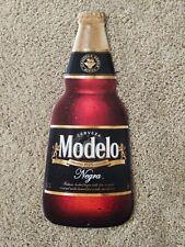 Negra Modelo Cerveza Beer Bottle Tin Metal Sign 22'x8'