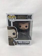 2012 Funko Pop Television HBO Game of Thrones Ned Stark #02 Vinyl Figure