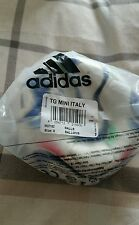ADIDAS TEAMGEIST MINI FOOTBALL 2006 WINNERS ITALY FREE UK P&P
