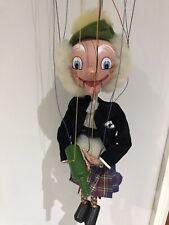 Pelham Puppets Vintage MACBOOZLE SCOTSMAN in very good condition + original box