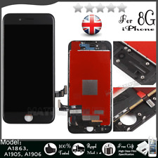 For iPhone 8 4.7'' LCD Screen Display Touch Digitizer Assembly Replacement Black