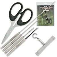 NGT Deluxe Baiting Needle & Sissor Set. Perfect for the Carp & Barbel Angler.