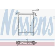 Nissens Wärmetauscher, Innenraumheizung Fiat, Nissan, Opel, Renault 73343