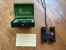 Vintage Leica Trinovid 8 X 20 Binoculars with box and suede case