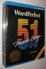 WORDPERFECT 5.1 MADE EASY - MELLA MINCBERG - EN INGLES