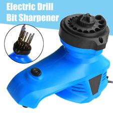 Electric 3-12MM Drill Bits Sharpener HSS Twist Drill Bit Sharpening Grinding UK