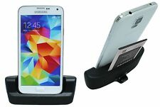 Samsung GALAXY s5 g900f DOCK DOCKING STATION SUPPORTO DI RICARICA BLACK + cavo dati