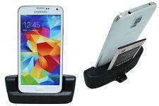 Docking Dock Station USB 3.0 + Steckdosenadapter für Samsung Galaxy S5 G900F