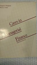 Cases in Managerial Finance by Roy L. Crum, Eugene F. Brigham, Aubey, Pettway an