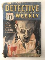 Pulp Magazine - DETECTIVE FICTION WEEKLY Sept 9 1933 - RARE