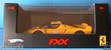 FERRARI FXX #22 YELLOW HOTWHEELS ELITE 1/43 MATTEL 1:43 1/43 GELB JAUNE ITALIA