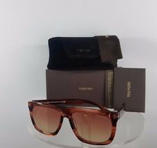 New Authentic Tom Ford TF513 Sunglasses 68T TF513 Morgan Pink Salmon Frame