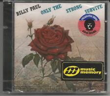 BILLY PAUL-Only the Strong Survive (1977) - CD NEUF & neuf dans sa boîte/sealed-Very Rare