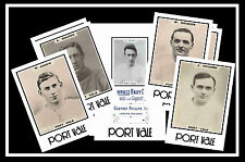 PORT VALE - RETRO 1920's STYLE - NEW COLLECTORS POSTCARD SET