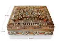 New, Jewellery Box, Box, Wooden Box cm, Gift Box, Storage Damaskunst K22-24