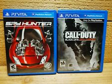 PS Vita Lego Video Game Lot Call of Duty Black Ops Declassified Spy Hunter