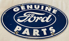 VINTAGE FORD MOTORS PORCELAIN SIGN, SERVICE, GAS, OIL, DEALERSHIP, GENUINE PARTS