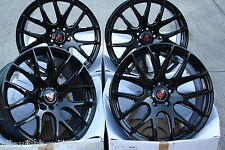 "20"" BLACK AXE CS LITE 950KG ALLOY WHEELS FITS VW T5 T6 T28 T30 T32 VAN AMAROK"