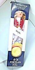 Juguete de regalo de cumpleaños del Heritage Mint Porcelana Muñeca Colección Heidi plumín D-38 D38