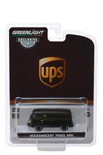 Greenlight Volkswagen Panel Van United Parcel Service (Ups) 1/64 Diecast 30020
