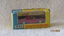 Matchbox King Size Lamborghini Miura w/ Box