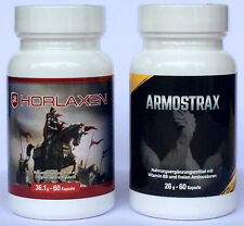 Horlaxen & Armostrax *NEU & OVP* 100 % ORIGINAL *BLITZVERSAND*(128,66€/100g)